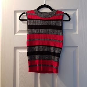 NWT Forever 21 Sleeveless Rib Knit Crop Top